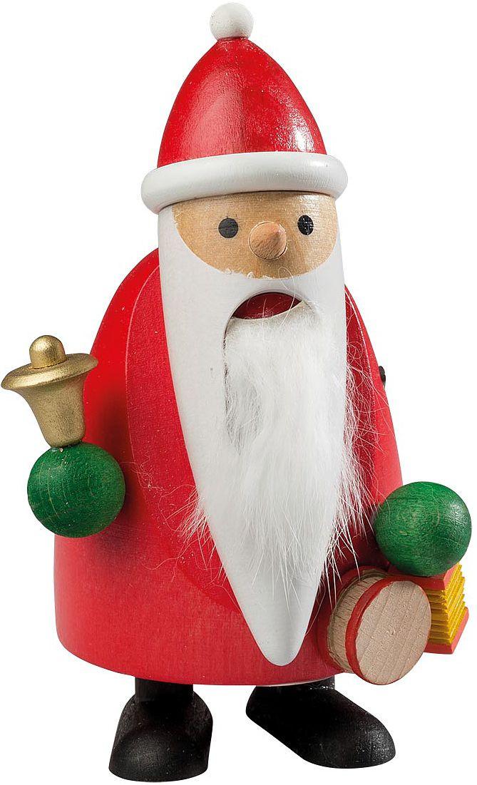 Nußknacker Langbart Santa mit Glocke