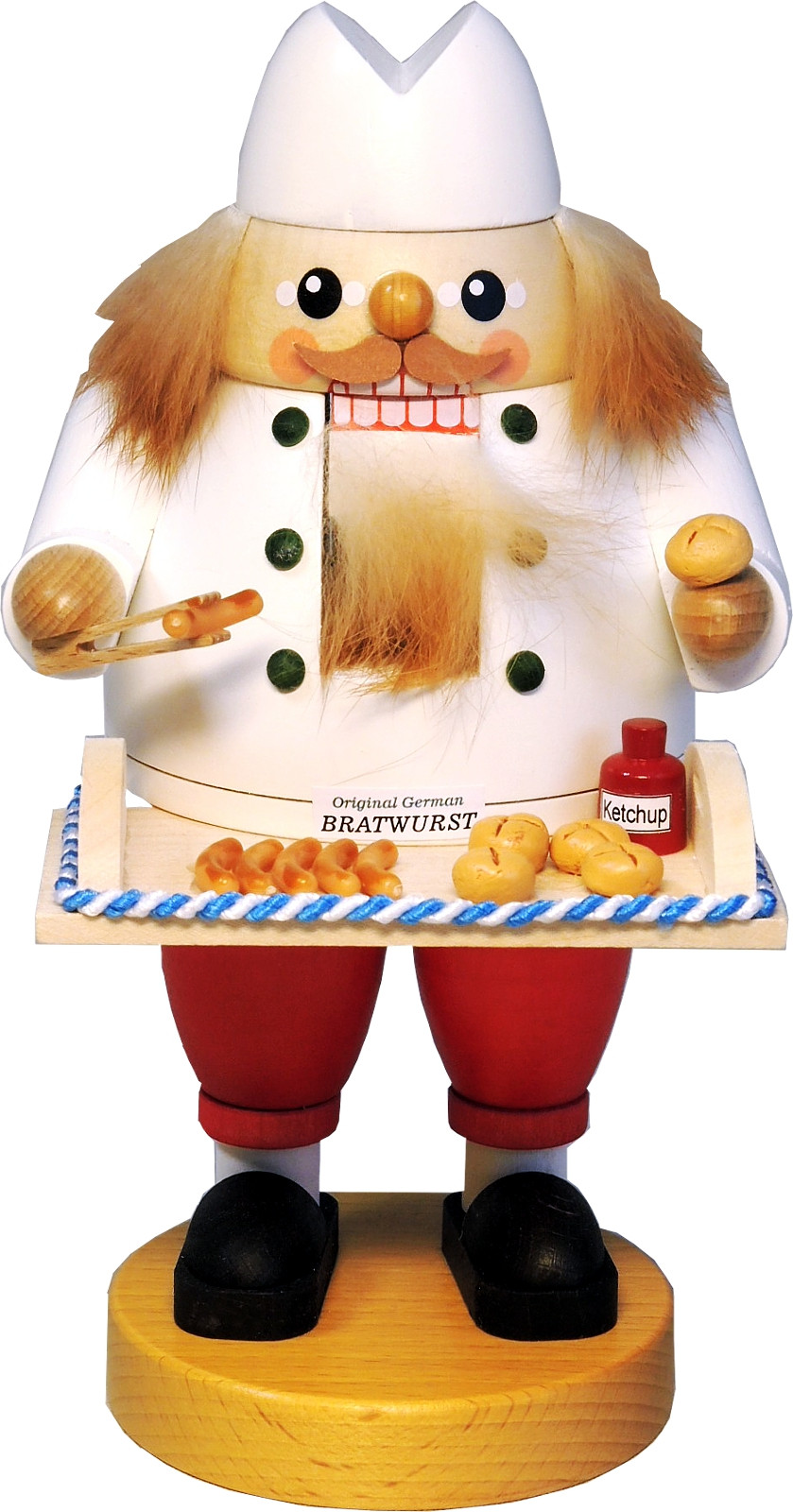 Nussknacker Bratwurstverkäufer