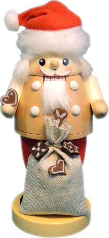 Nussknacker Santa mit Pfefferkuchen