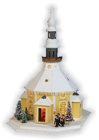 Lichterhaus Seiffener Kirche
