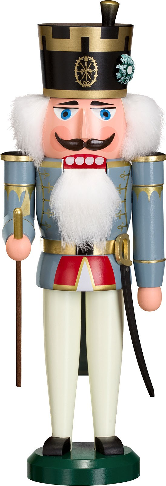 Nussknacker Offiziant, 38 cm