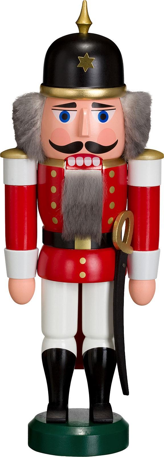 Nussknacker Soldat, rot, 27 cm