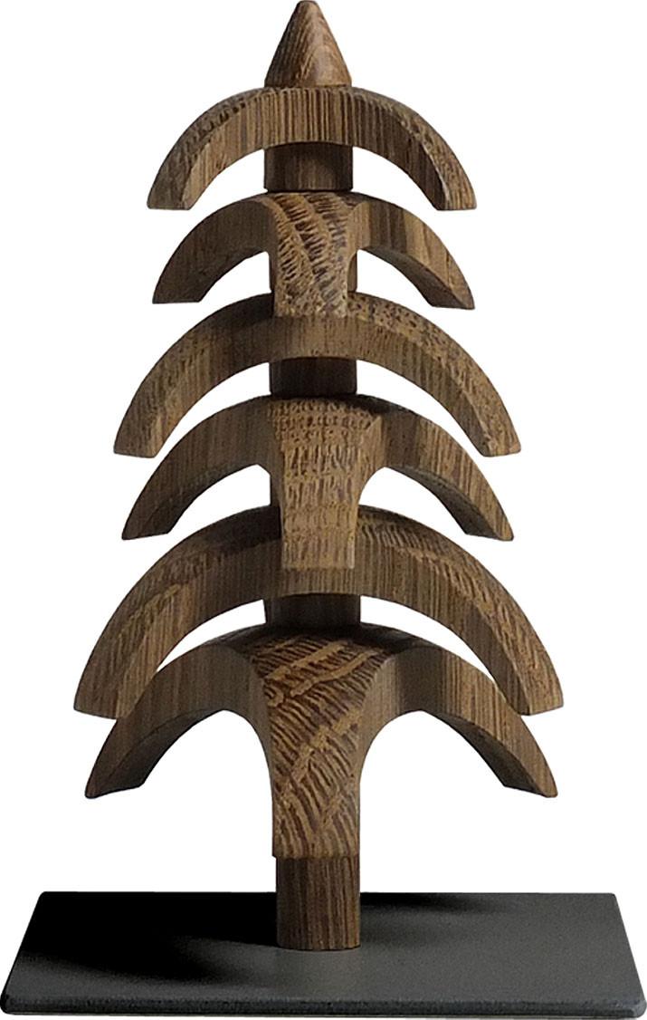 Drehbaum Twist, Eiche geräuchert - 11,5 cm