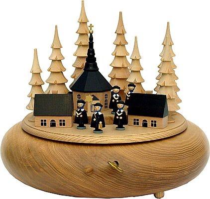 RiesenSpieldose Spielzeugdorf Seiffen, natur