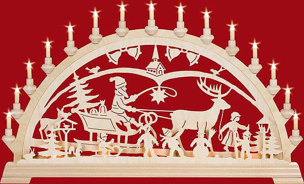Schwibbogen Weihnachtsland mit Kinder