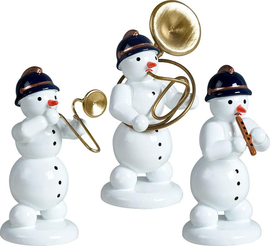 Schneemannmusikanten, 3-teilig