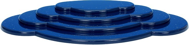 Wolke Blau 4-teilig