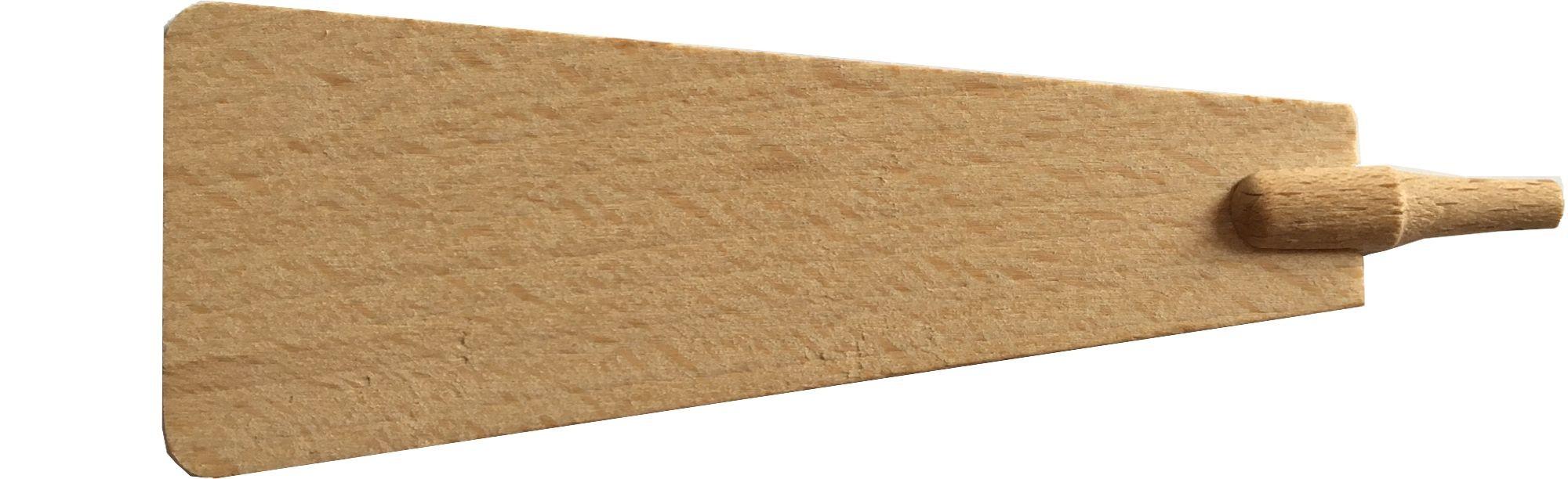 Pyramidenflügel mit Schaft Dms. 5 mm, Länge 100mm
