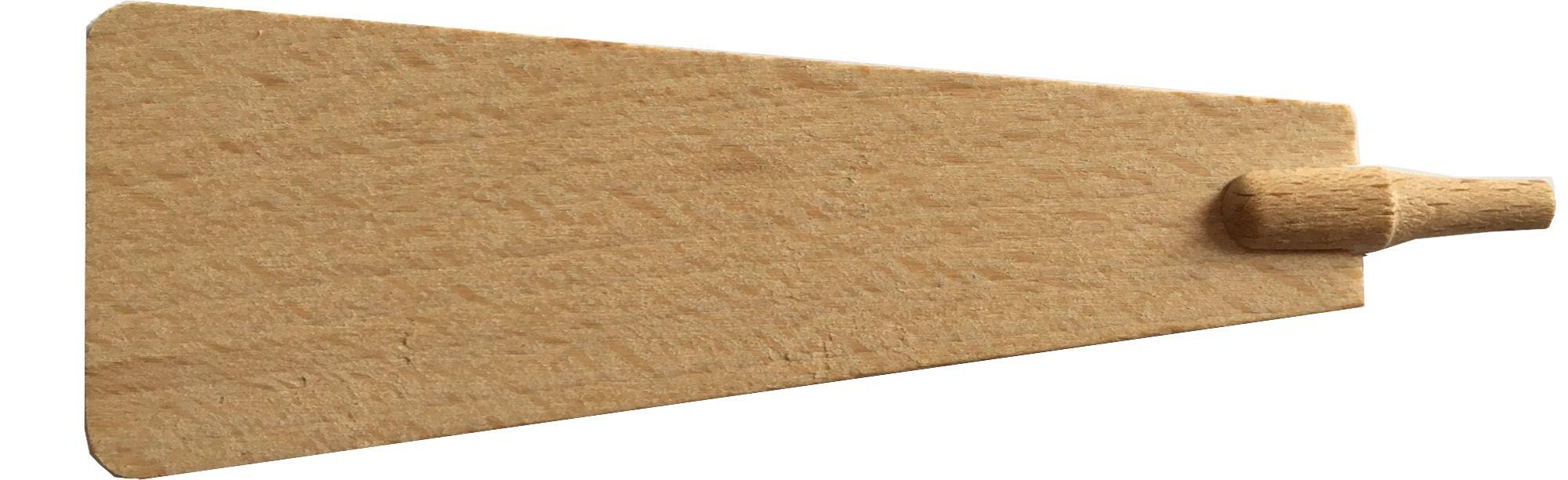 Pyramidenflügel mit Schaft Dms. 5 mm, Länge 115mm
