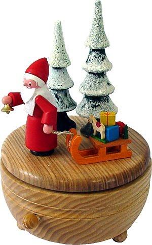 Spieldose Weihnachtsmann